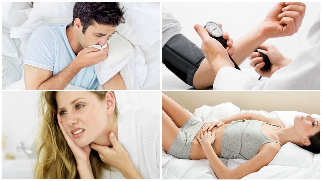 संक्रमित टिक द्वारा काटने के बाद रोग के लक्षण